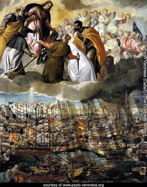 Battle of Lepanto c. 1572