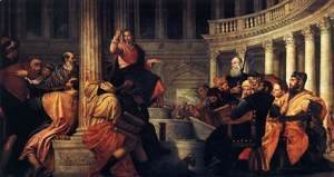 Paolo Veronese (Caliari) - Jesus among the Doctors in the Temple 1558