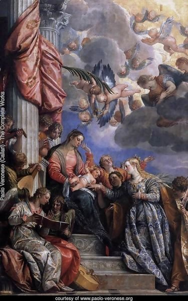 Mystical Marriage of St Catherine c. 1575