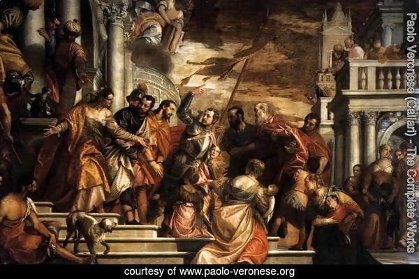 Sts Mark and Marcelino Being Led to Martyrdom 1565