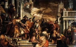 Paolo Veronese (Caliari) - Sts Mark and Marcelino Being Led to Martyrdom 1565
