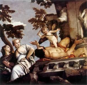 Paolo Veronese (Caliari) - The Allegory of Love II-Unfaithfulness c. 1575