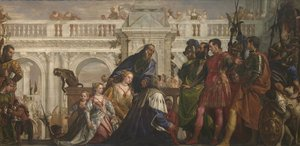 Paolo Veronese (Caliari) - The Family of Darius before Alexander 1565-70
