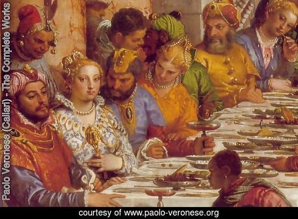 The Marriage at Cana (detail-1) 1563