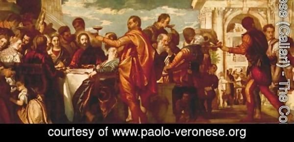 Paolo Veronese (Caliari) - The Marriage at Cana c. 1560