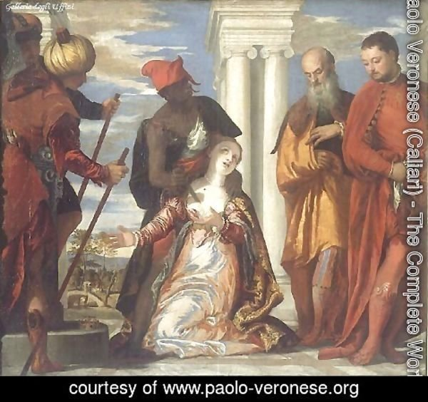 Paolo Veronese (Caliari) - The Martyrdom of St. Justine c. 1573