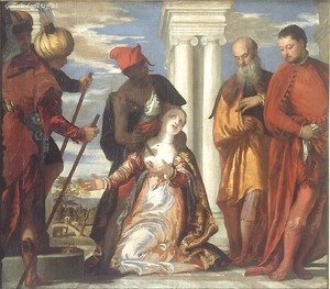 The Martyrdom of St. Justine c. 1573