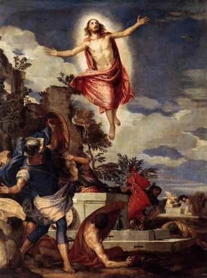 Paolo Veronese (Caliari) - The Resurrection of Christ c. 1570