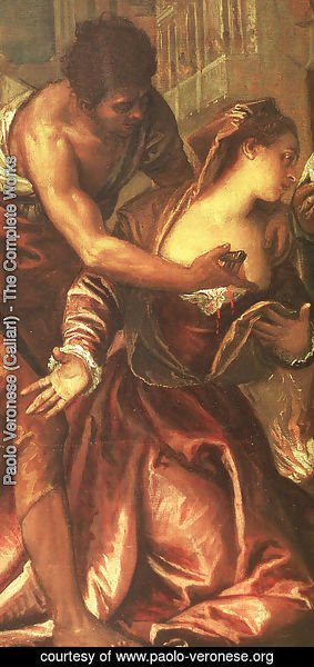 Paolo Veronese (Caliari) - The Martyrdom and Last Communion of St. Lucy (detail)