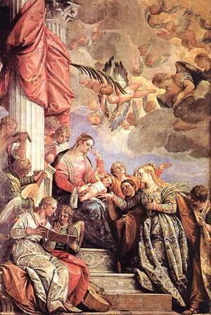 Paolo Veronese (Caliari) - The Marriage of St Catherine
