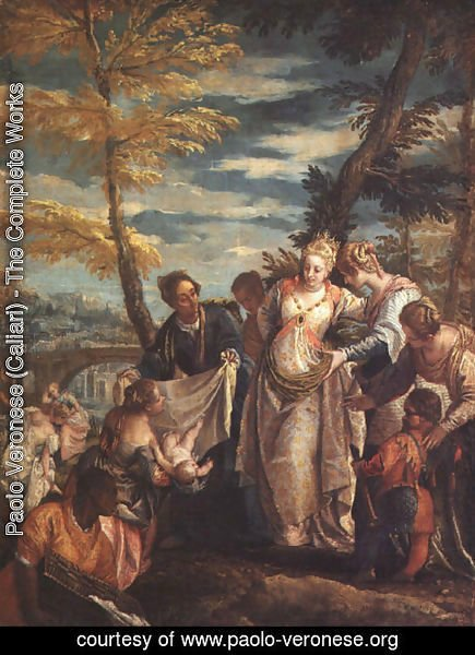 Paolo Veronese (Caliari) - The Finding of Moses
