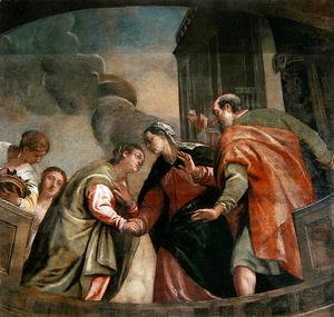 Paolo Veronese (Caliari) - The Visitation