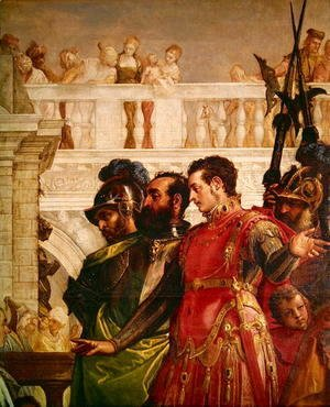 Paolo Veronese (Caliari) - Family of Darius before Alexander the Great 2