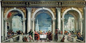 Paolo Veronese (Caliari) - Supper in the House of Levi, 1573