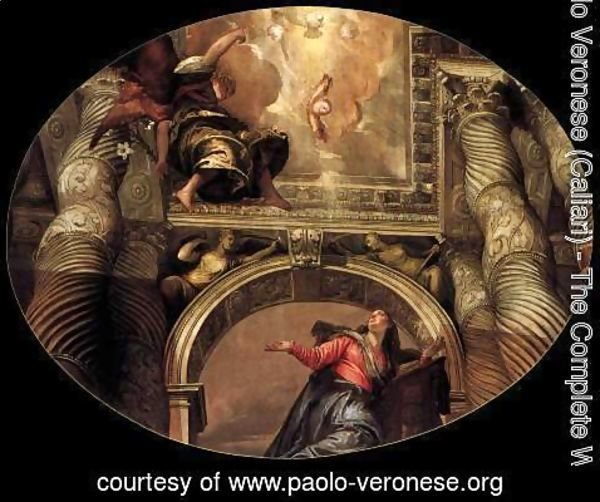 Paolo Veronese (Caliari) - The Annunciation