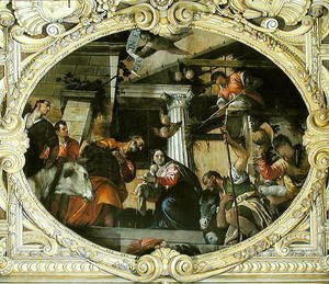 Paolo Veronese (Caliari) - Adoration of the Shepherds
