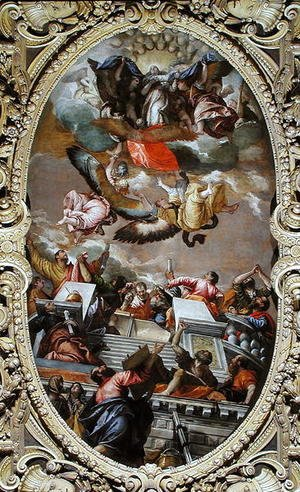 Paolo Veronese (Caliari) - Assumption of the Virgin