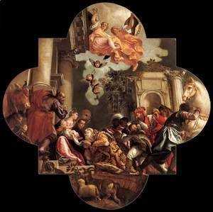 Paolo Veronese (Caliari) - Adoration of the Magi