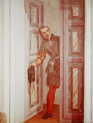 Paolo Veronese (Caliari) - A Servant at the Door, 156