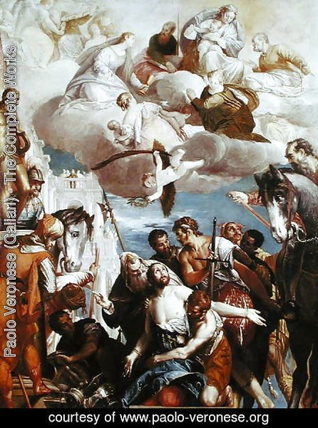 Paolo Veronese (Caliari) - The Martyrdom of St. George