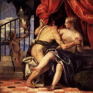 Paolo Veronese (Caliari) - Mars and Venus