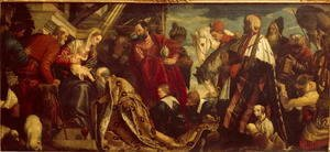 Paolo Veronese (Caliari) - Adoration of the Magi, 1571