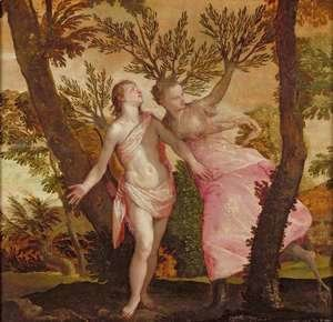 Paolo Veronese (Caliari) - Apollo and Daphne, c.1565-70
