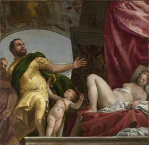 Paolo Veronese (Caliari) - Allegory of Love, III Respect