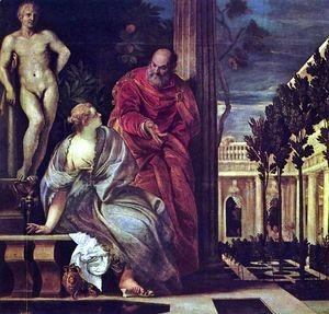 Paolo Veronese (Caliari) - Bathsheba at her Toilet