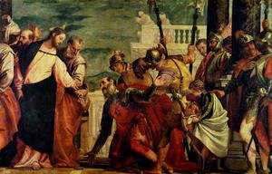 Paolo Veronese (Caliari) - Jesus and the Centurion