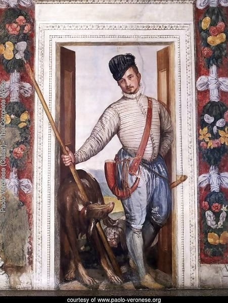 Self Portrait in Hunting Costume, 1562