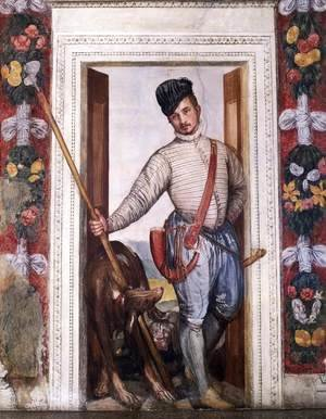 Paolo Veronese (Caliari) - Self Portrait in Hunting Costume, 1562