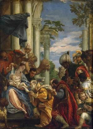 Paolo Veronese (Caliari) - Adoration of the Magi, 1570s