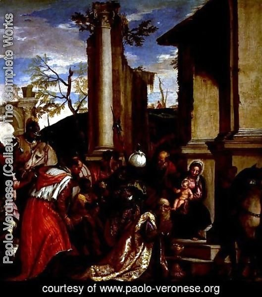 Paolo Veronese (Caliari) - Adoration of the Kings