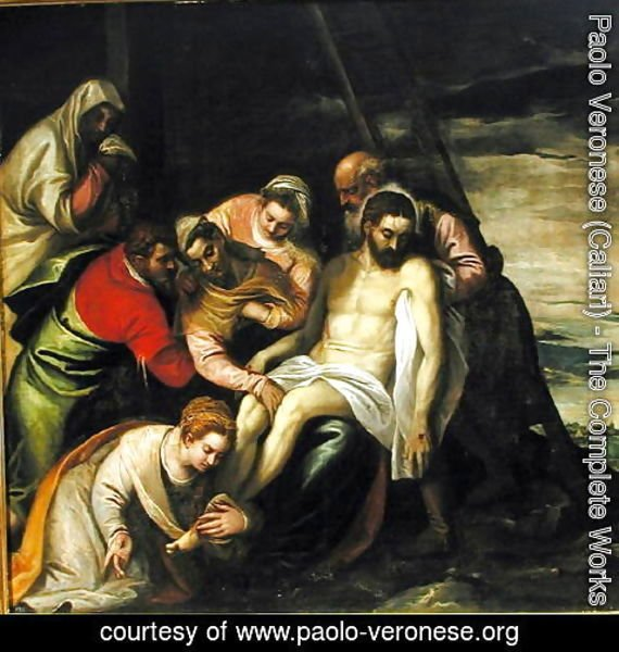 Paolo Veronese (Caliari) - The Descent from the Cross