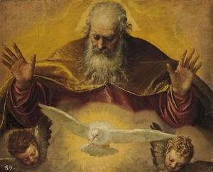 Paolo Veronese (Caliari) - The Eternal Father