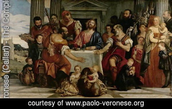 Paolo Veronese (Caliari) - Supper at Emmaus 2