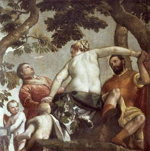 Paolo Veronese (Caliari) - Allegory of Love, I