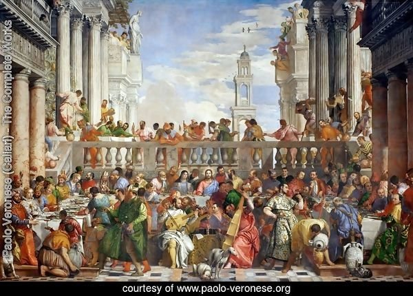 The Marriage Feast at Cana, c.1562