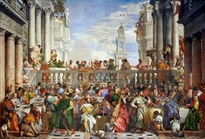 Paolo Veronese (Caliari) - The Marriage Feast at Cana, c.1562