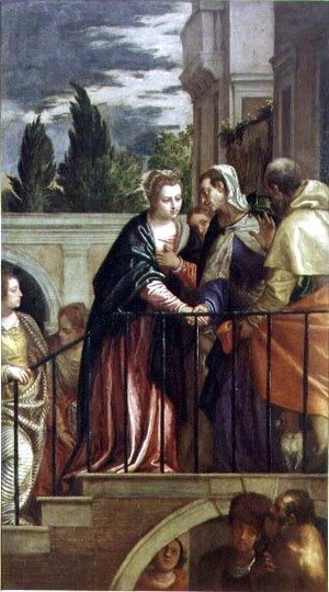 Paolo Veronese (Caliari) - The Visitation 2