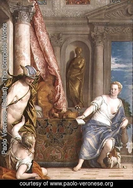 Paolo Veronese (Caliari) - Hermes, Herse and Aglauros, c.1576-84