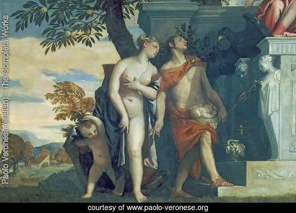 Venus and Mercury presenting her son Anteros to Jupiter