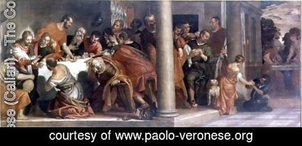 Paolo Veronese (Caliari) - The Last Supper