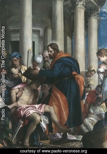 The Miracle of St. Barnabas, c.1566