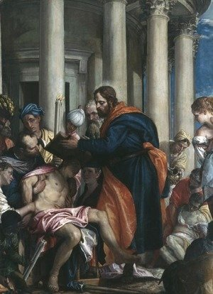 Paolo Veronese (Caliari) - The Miracle of St. Barnabas, c.1566