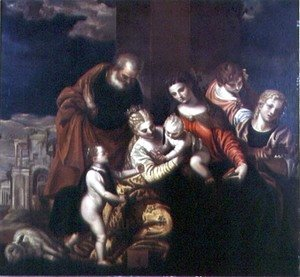 Paolo Veronese (Caliari) - The Mystic Marriage of St. Catherine