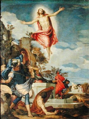 Paolo Veronese (Caliari) - Resurrection of Christ, 1570-75