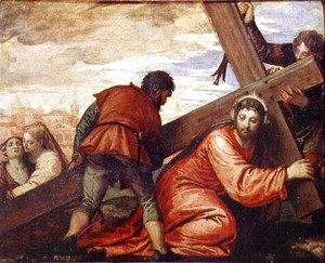 Paolo Veronese (Caliari) - Christ Sinking under the Weight of the Cross