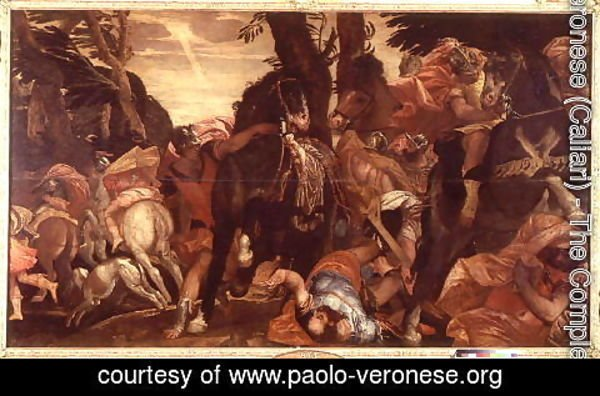 Paolo Veronese (Caliari) - The Conversion of Saul, p.1580
